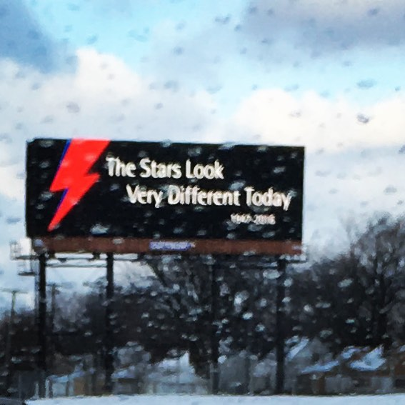 We assume this billboard purportedly on a Detroit road is fake. But we appreciate the sentiment