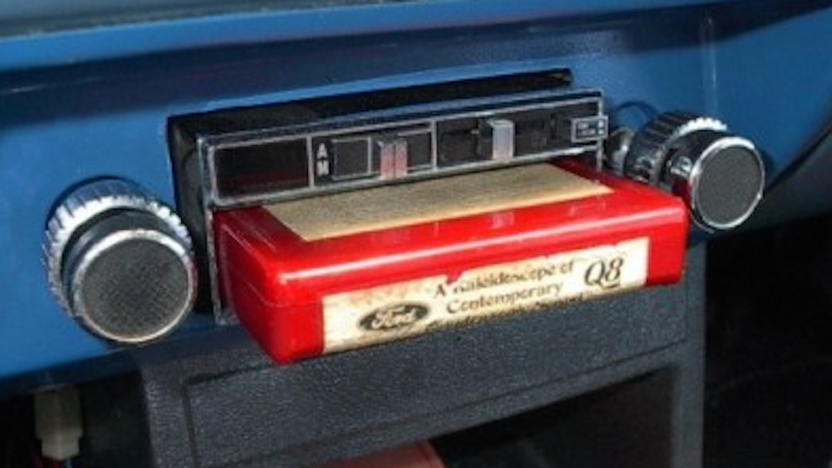 Recorded Music Made The First Step In Greater Mobility When On September 15 1965 Ford Motor Company Offered 8 Track Cartridge Players As Standard