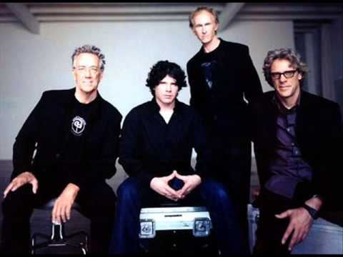 From left: Manzarek, Astbury, Krieger & Copeland