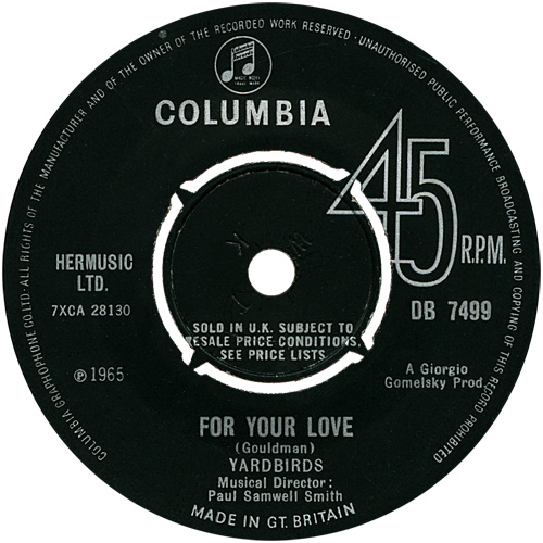 the-yardbirds-for-your-love-columbia