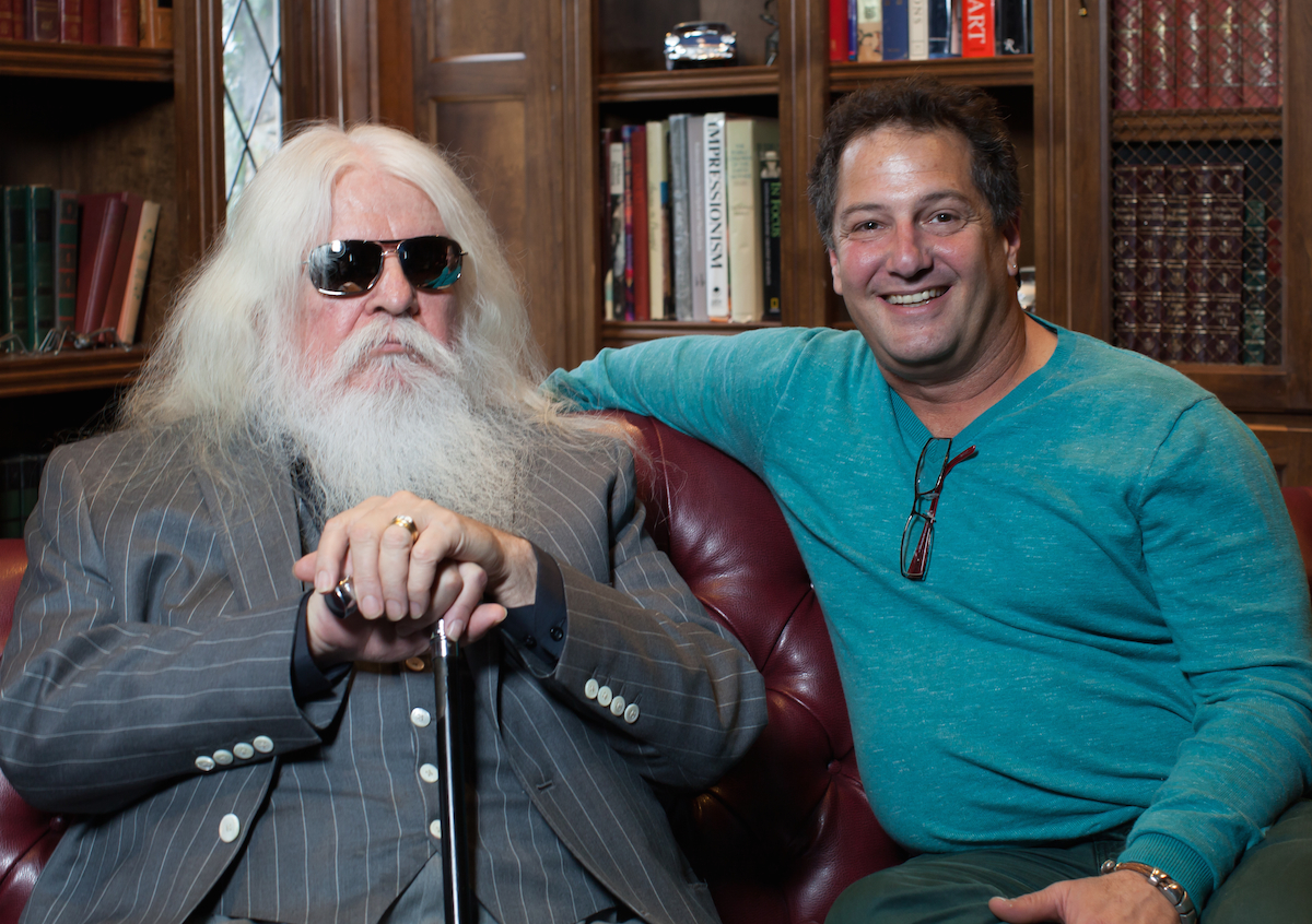 Tedesco with former Wrecking Crew pianist & later star in-his-own-right Leon Russell.