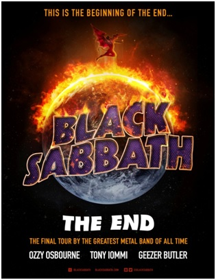 Black Sabbath The End Keyart