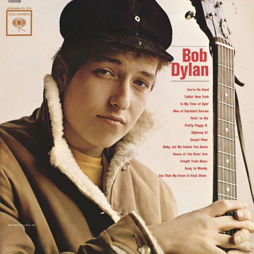 Dylan first album cover