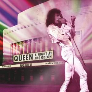 Queen A Night At The Odeon CD Cover Art