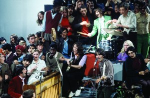 "The Beatles filming ""Hey Jude,"" September 4, 1968 © Apple Corps Ltd."