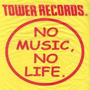 towerrecords no music