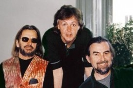 Nov 12, '01: George, Paul, Ringo Meet For Last Time