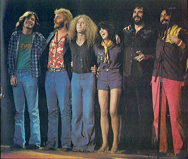 Ronstadt Touring Band 1977