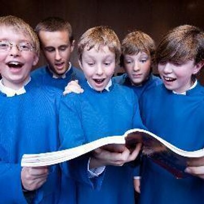 From the Trinity Boys Choir Twitter profile