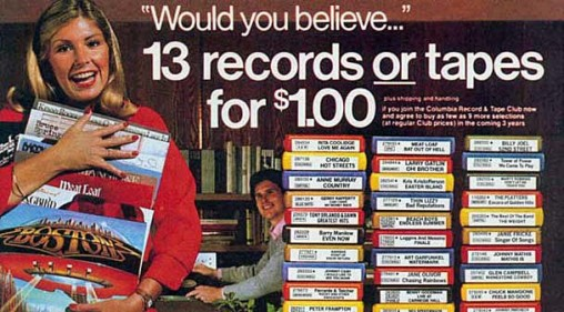 Columbia House Ad
