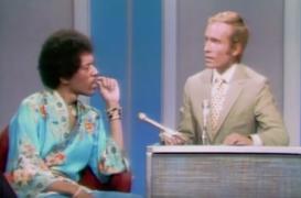 Jimi Hendrix Talks To Dick Cavett About Anthem