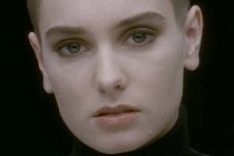 Sinead O'Connor Nothing Screen Cap