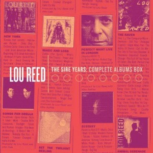 Lou Reed Sire Years box