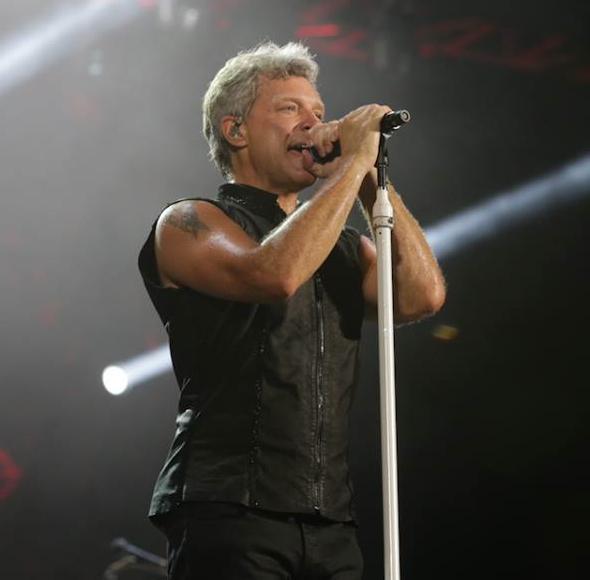 Jon Bon Jovi/photo by Robby Suharlin
