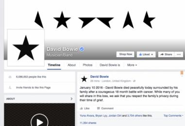 David Bowie 1947 – 2016
