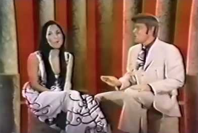 Campbell with Cher on his 1969 Goodtime Hour Christmas special