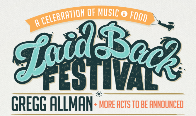 Allman Laid Back Festival Logo