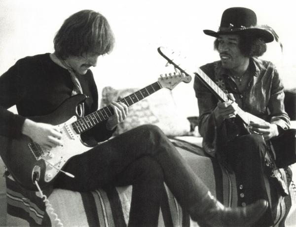 Mason & Jimi Hendrix, 1968