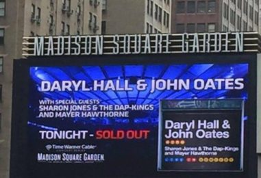 Hall and Oates' Triumphant 2016 Return to MSG