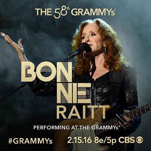 Bonnie Raitt 2016 Grammys