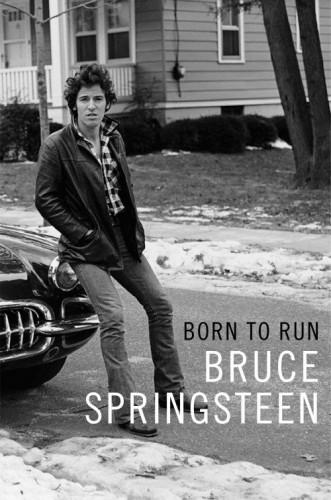 Bruce Springsteen Born To Run book cover
