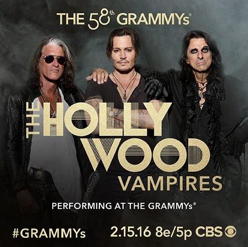 Joe Perry, Johnny Depp and Alice Cooper are among the few classic rockers performing at this year's Grammy Awards