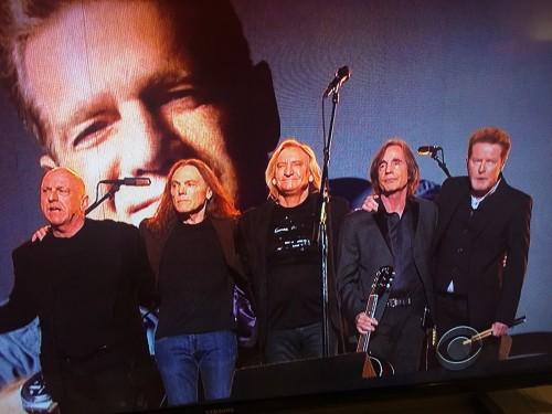 Screen cap of the Glenn Frey tribute