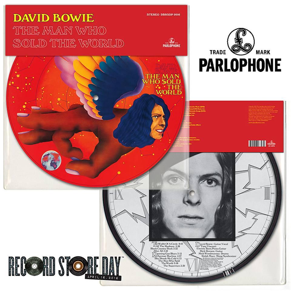 David Bowie RSD 2016