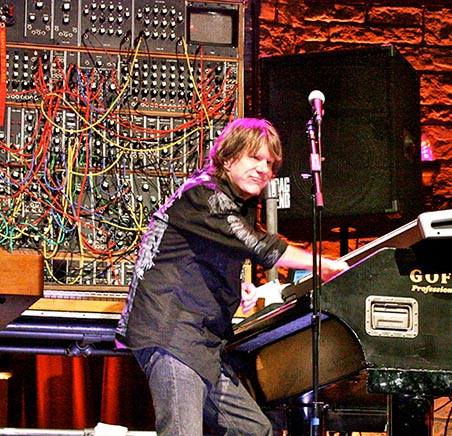 Keith Emerson in an undated photo (via the Emerson, Lake & Palmer Facebook page)