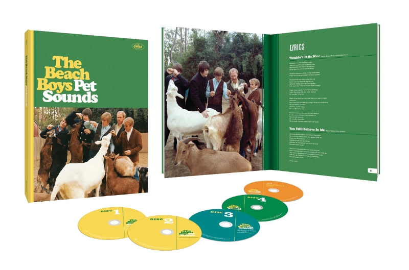 Beach Boys Pet Sounds 50th Box