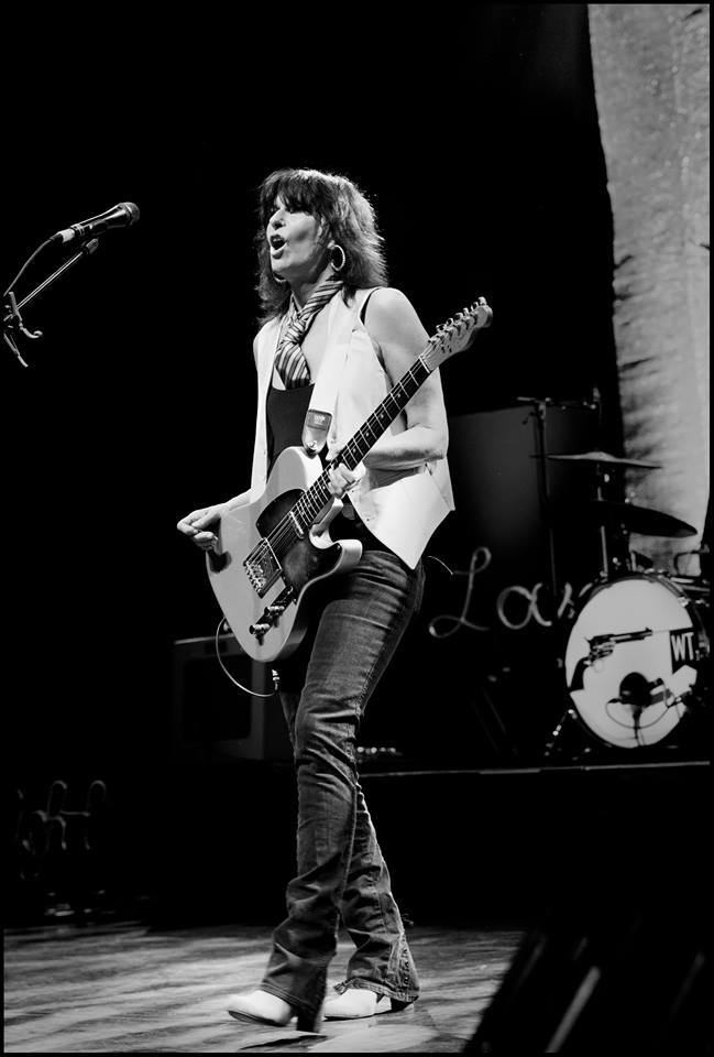 Chrissie Hynde (in an undated photo from the artist's Facebook page)
