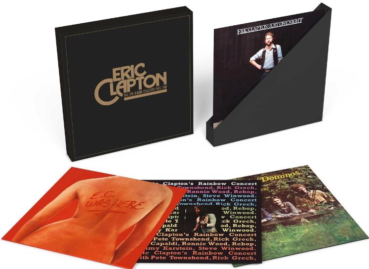 Eric Clapton Unveils Live Album Vinyl Collection Best