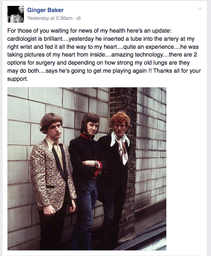 Ginger Baker heart FB
