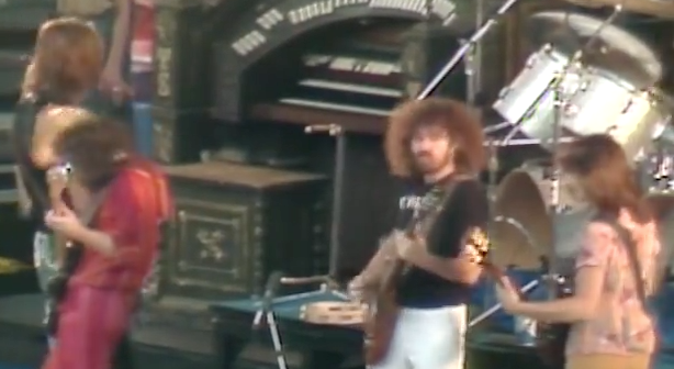 (Not) just another band out of Boston (screen cap from YouTube clip)