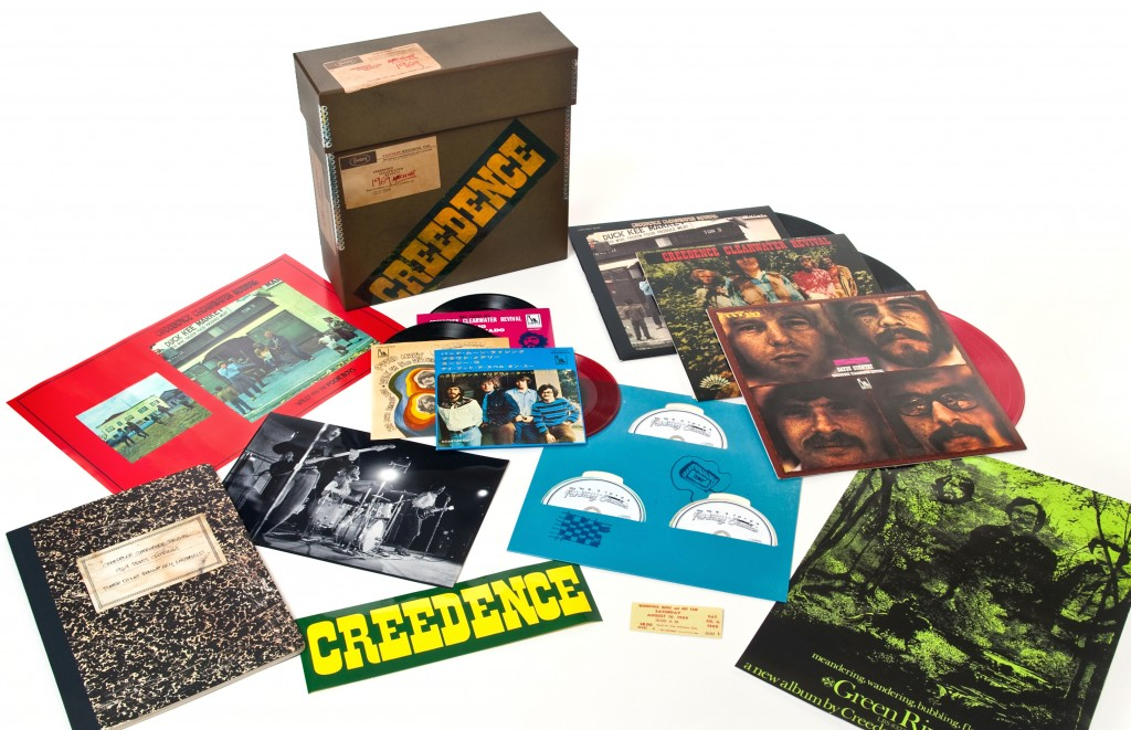 "180-gram LPs, CDs with bonus cuts, 7"" EPs, and a trove of printed material from CCR's glorious year"