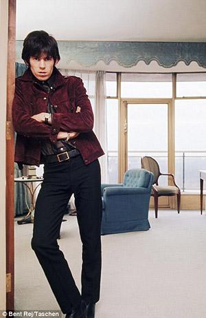 Keith Richards (via Gibson.com) Credit: Bent Rej