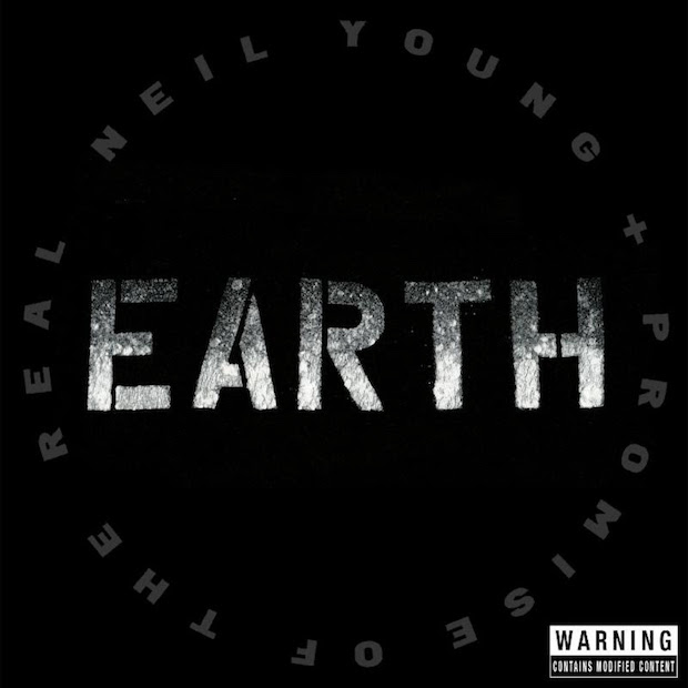 Neil Young EARTH cover
