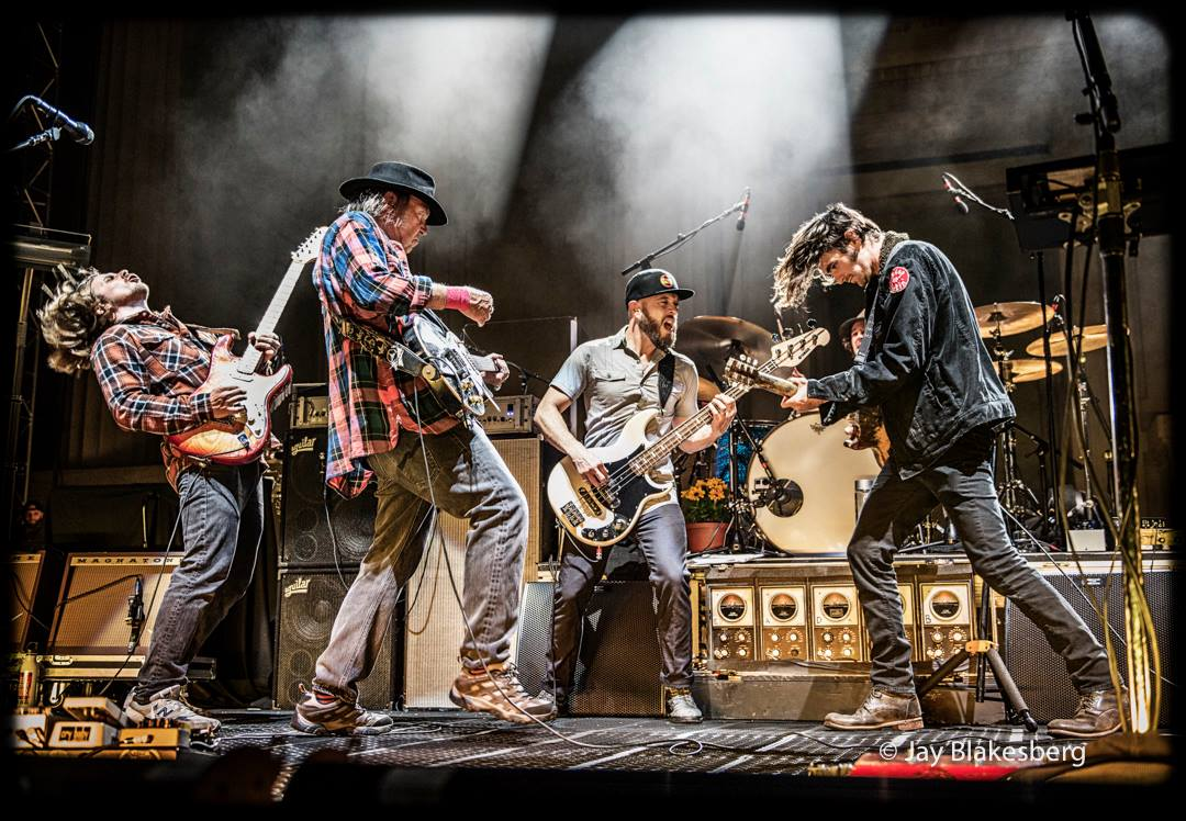 Neil Young & POTR (photo by Jay Blakesberg; from Neil FB)