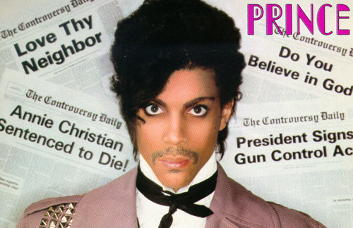 "Prince from his ""Controversy"" album cover"