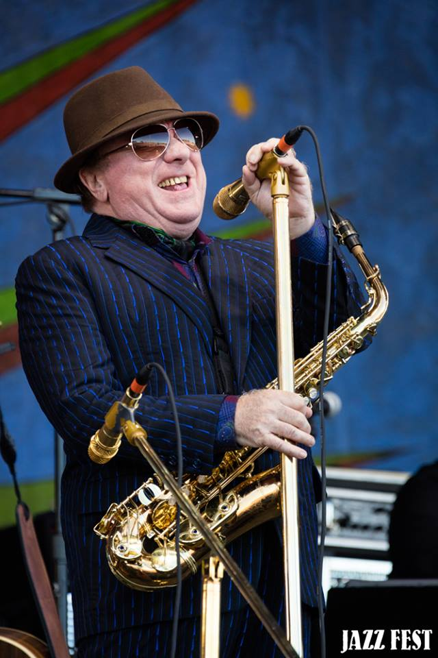 Van Morrison at Jazz Fest 2016 (photo Douglas Mason)