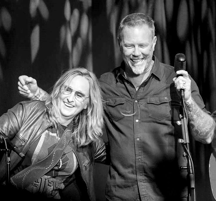 Melissa Etheridge and James Hetfield, May 15, 2016