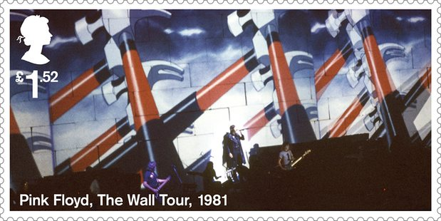 Floyd The Wall stamp
