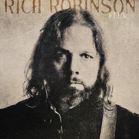Rich Robison Flux LP cover