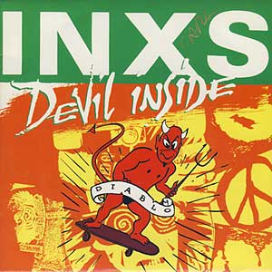 INXS Devil Inside Sleeve
