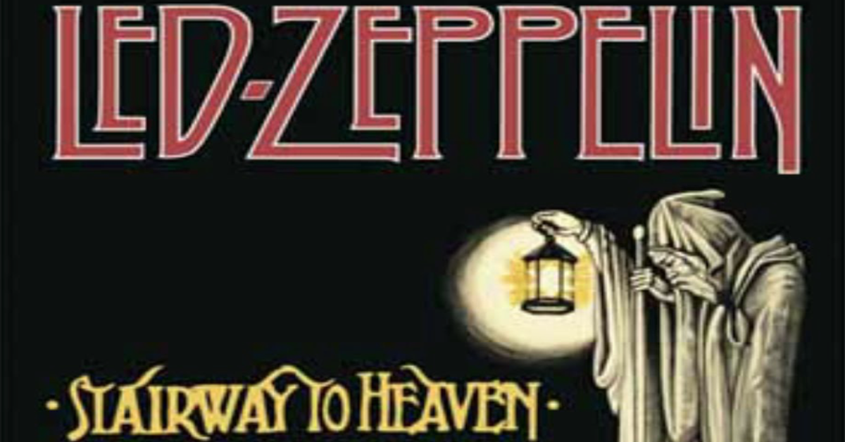 stairway to heaven by led zeppelin Led zeppelin stairway to heaven lyrics  there's a lady who's sure all that glitters is gold and she's buying a stairway to heaven when she gets there she knows, if the stores are all closed with a word she can get what she came for ooh, ooh, and she's buying a stairway to heaven.