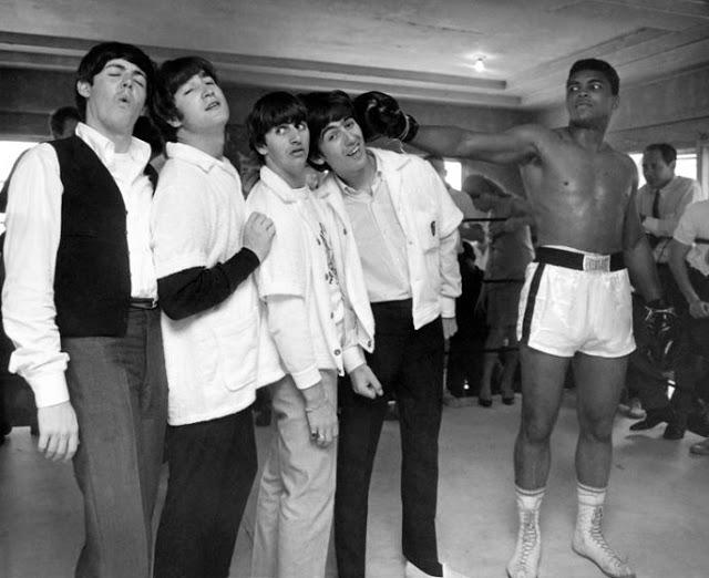 Muhammad Ali Beatles 1964