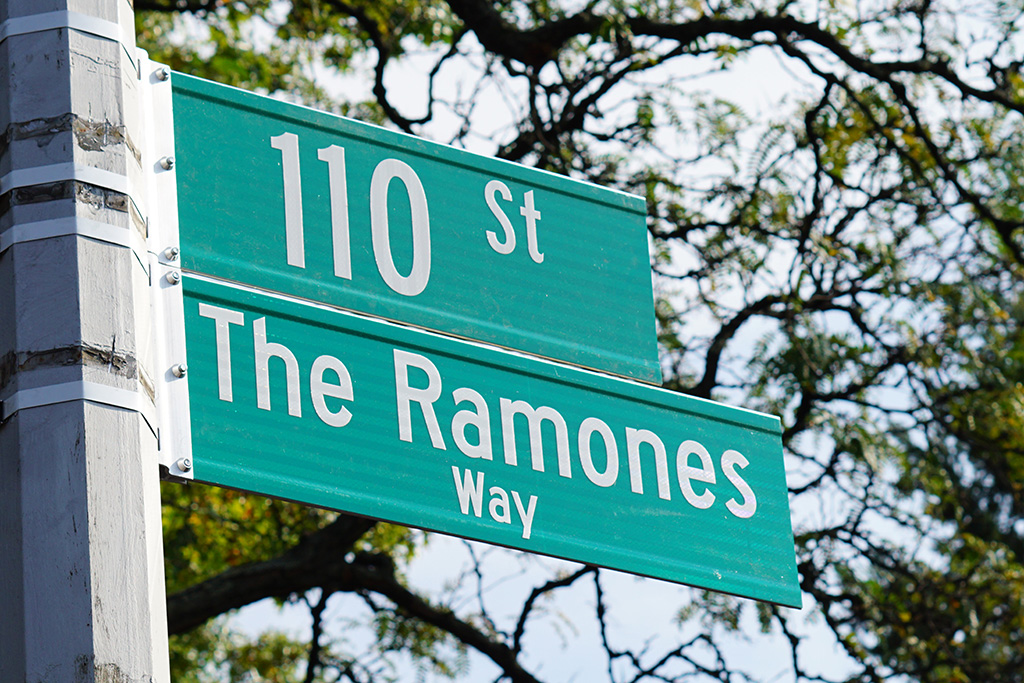 The Ramones Way in Forest Hills, Queens (NYC)