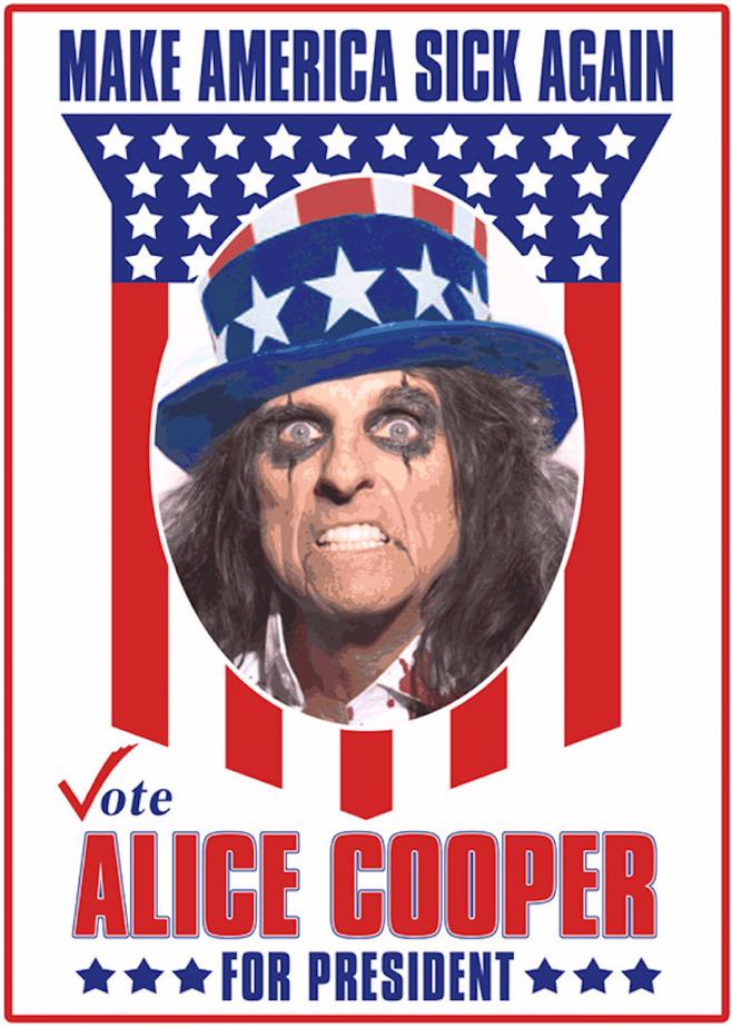 Alice Cooper POTUS