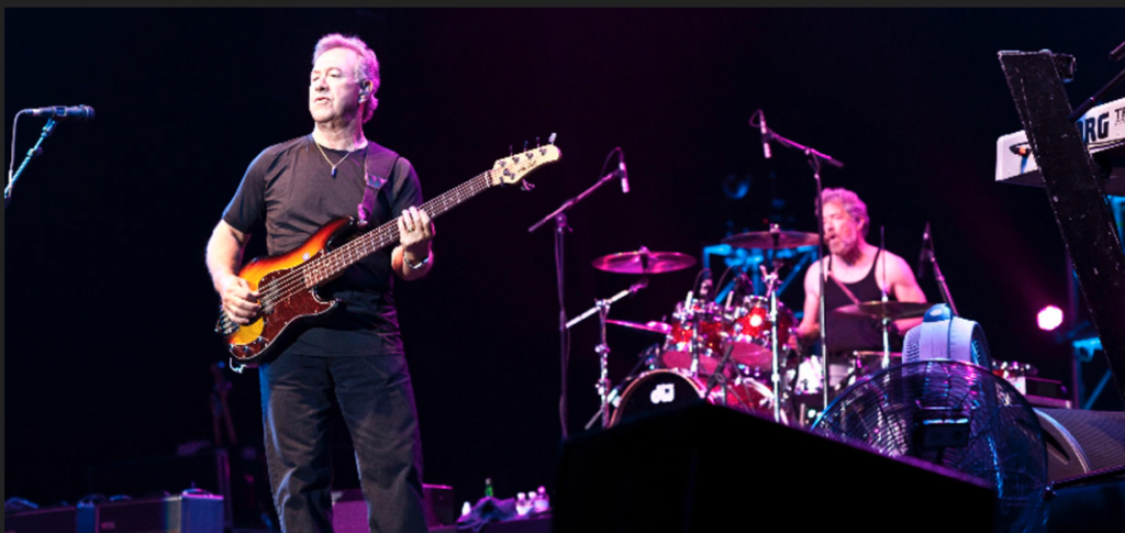 Stu Cook (on bass) and Doug Clifford (drums) via Creedence-Revisited.com
