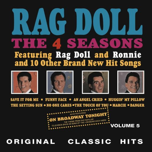A 4 Seasons LP cover before Valli was given star billing